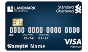 Apply for Standard Chartered Landmark Platinum Rewards Credit Card
