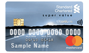 Apply for Standard Chartered Super Value Titanium Credit Card