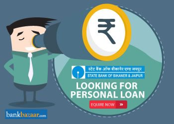 Enquire for State Bank of Bikaner Jaipur Personal Loan