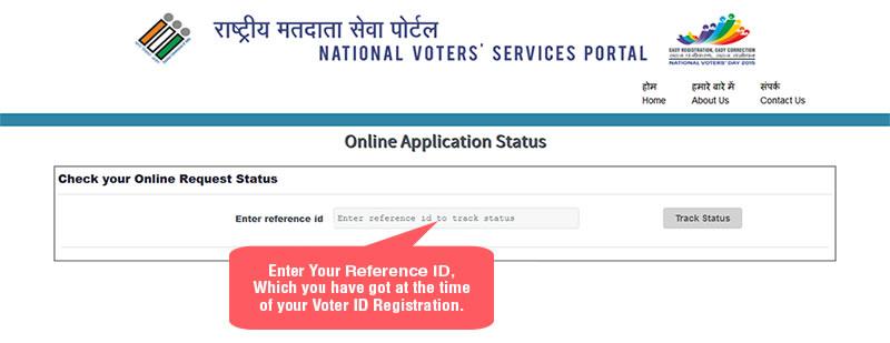 Know Voter ID Status Online