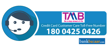 TMB Credit Card Toll free Number
