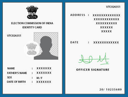 voter id election card india apply for voter id status of voter id
