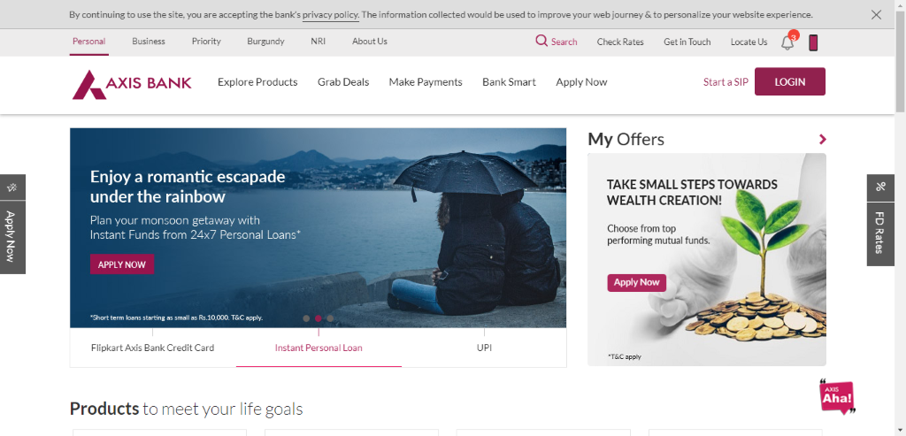 How To Get Axis Bank Personal Loan Account Statement